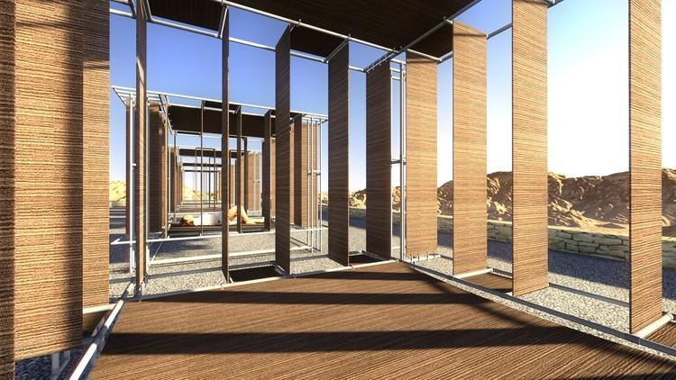 """Ganadores Concurso """"Diseña tu propio espacio ideal, Inspírate con Kalpakian"""", Primer Lugar. Image © Álvaro Nass Kunstmann"""