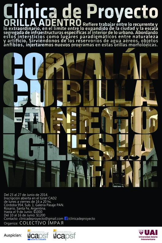 Clínica de proyecto: Orilla Adentro / Rosario, Argentina