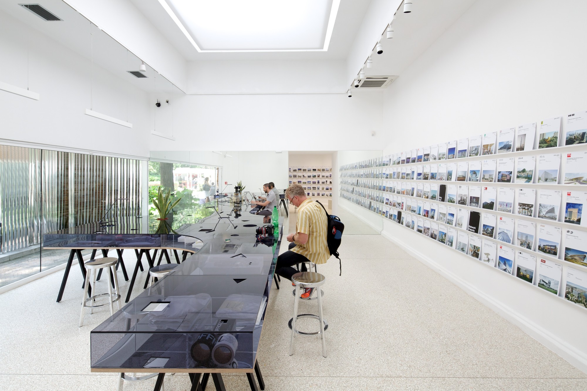 First Look Inside OFFICEUS, the US Pavilion at the 2014 Venice Biennale, © Nico Saieh
