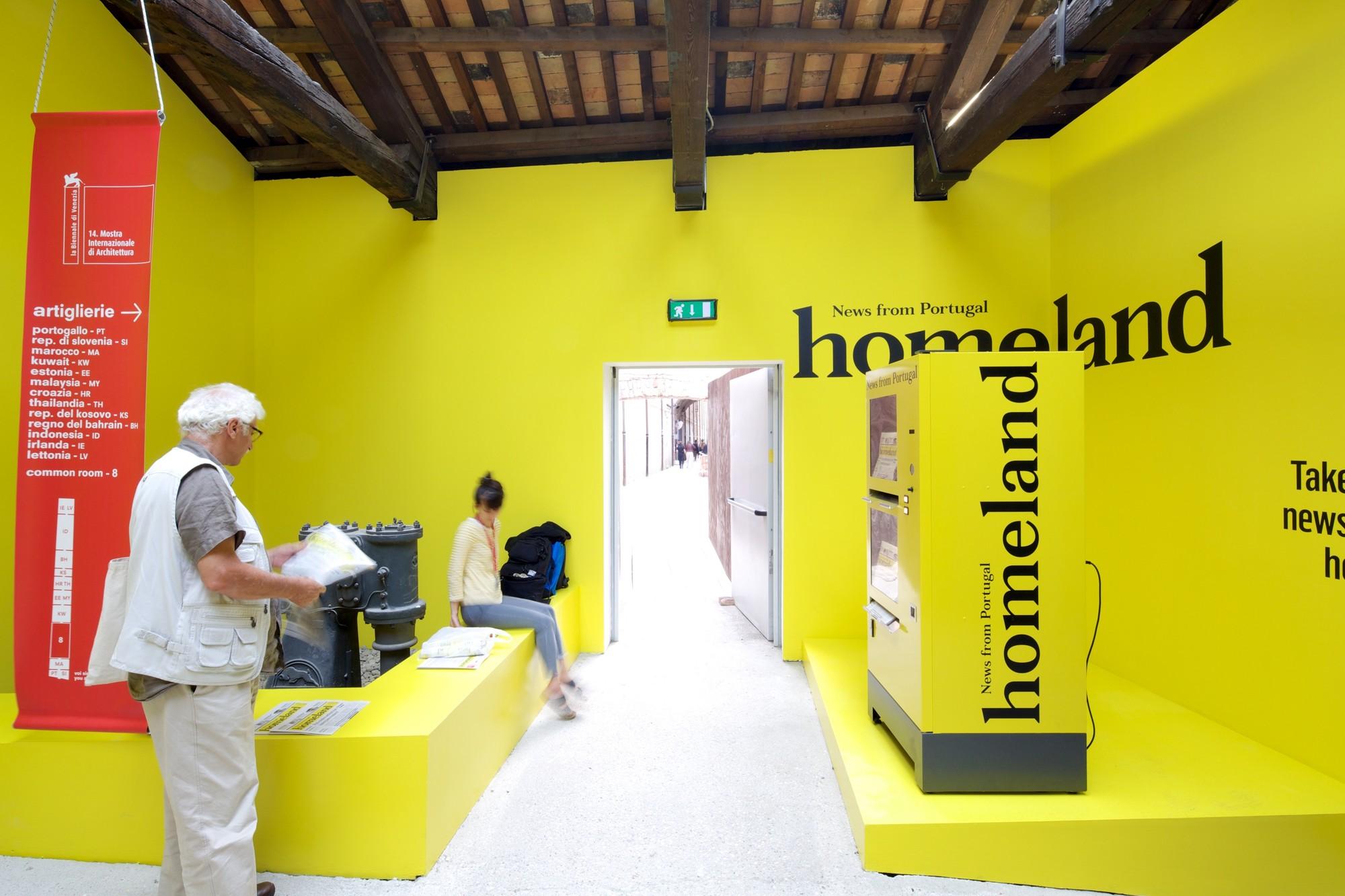 Homeland, News from Portugal / Pavilhão de Portugal, © Nico Saieh
