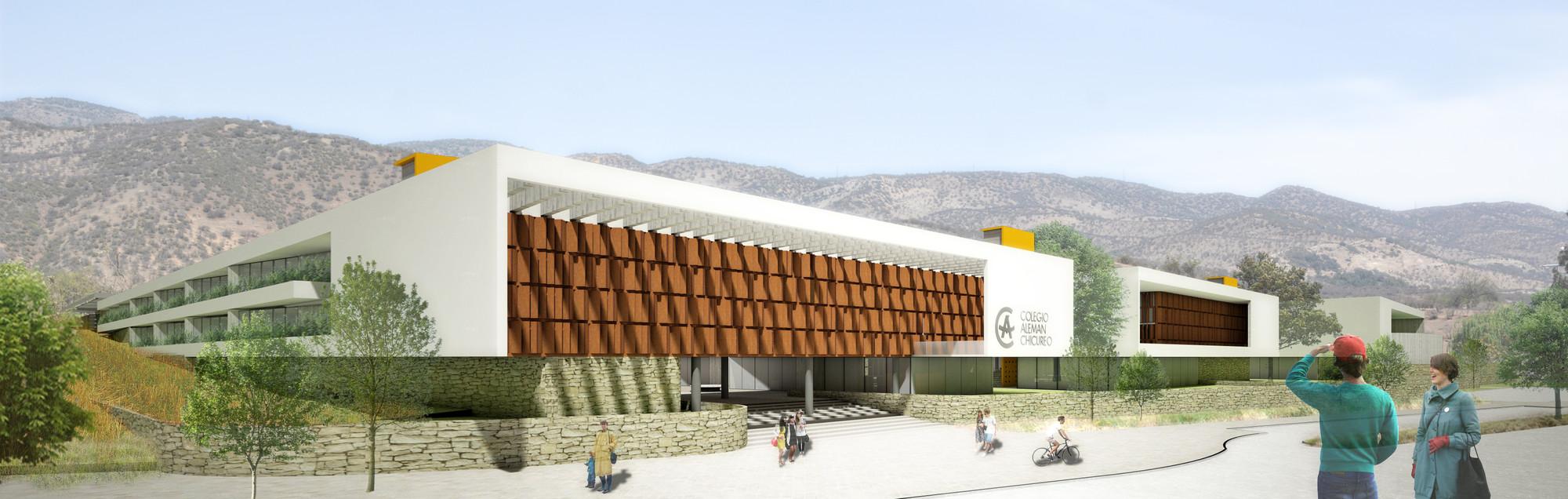 Liceo tag plataforma arquitectura for Edificios educativos arquitectura