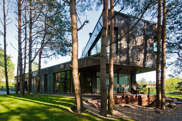 Residência em Vilnius / 4PLIUS Architects, © L.Garbaciauska