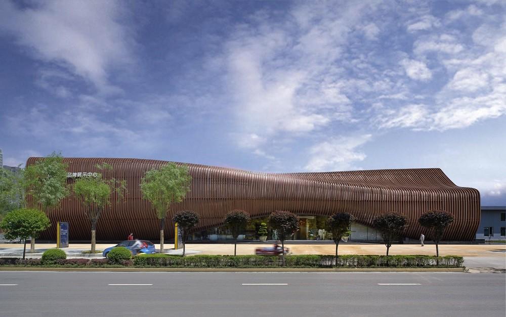 LAND Experience Center  / Aedas, Courtesy of Aedas