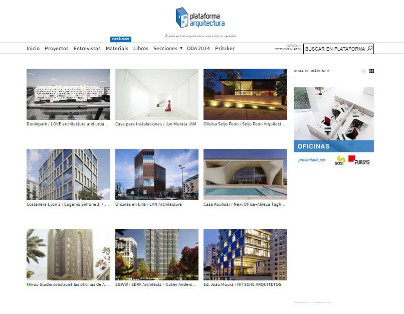 Oficinas estudios de arquitectura plataforma arquitectura - Oficinas de arquitectura ...