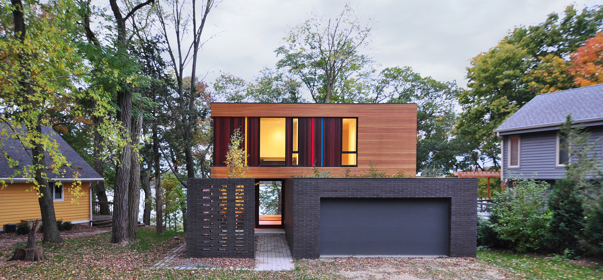 aia names its 2014 small projects awards winners archdaily redaction house johnsen schmaling architects image john j macaulay