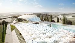 """Asymptote Architecture diseña """"Parque de los ángeles"""" en Italia"""
