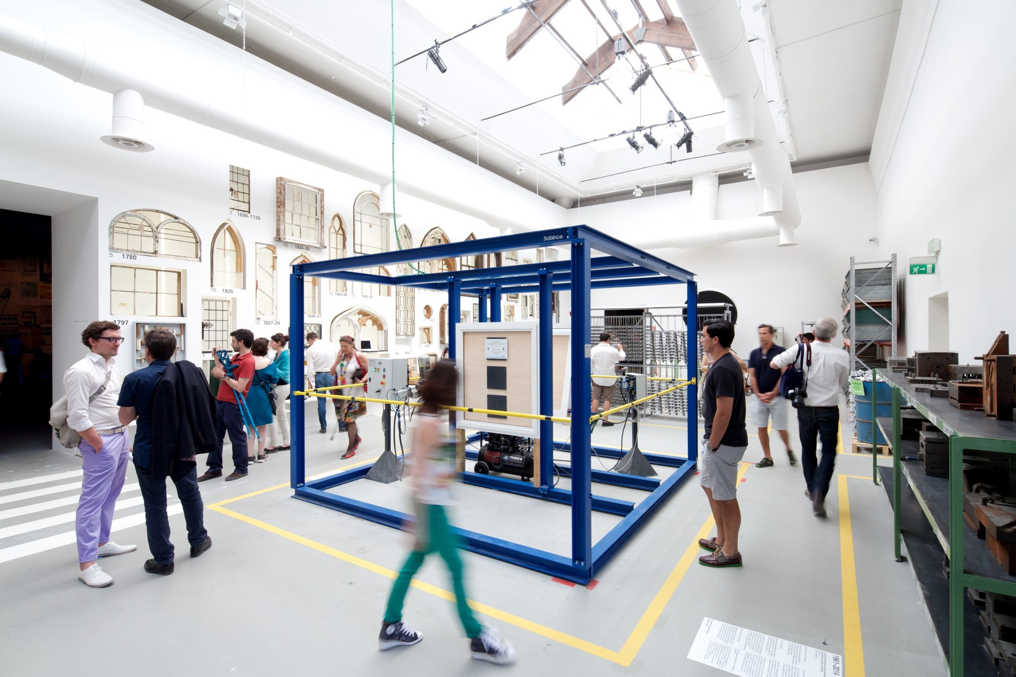 """""""Elements"""" de Rem Koolhaas: Desvendar as origens e assegurar o futuro da Arquitetura, Elementos da Arquitetura. Imagem © Nico Saieh"""