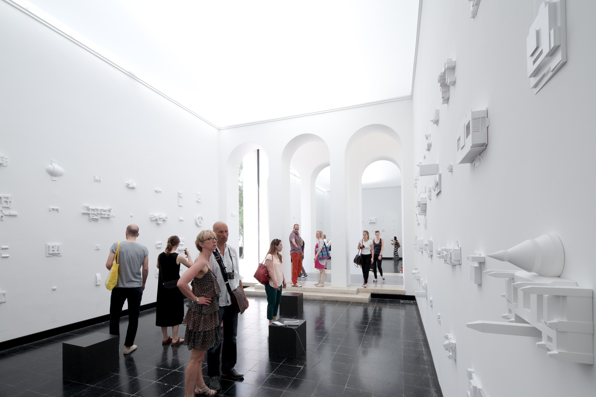 "Inside ""Places of Power"": Austria's Pavilion at the 2014 Venice Biennale, © Nico Saieh"