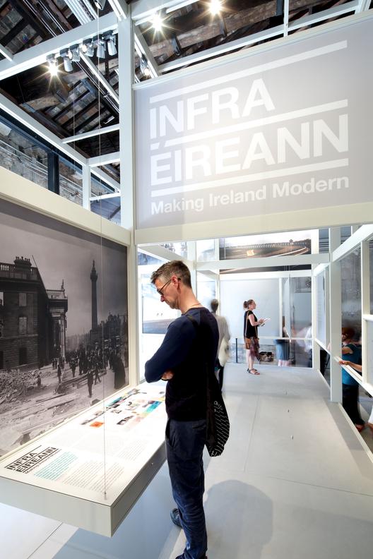 Infraestrutura, Dados e Progresso: Pavilhão da Irlanda na Bienal de Veneza 2014, © Nico Saieh