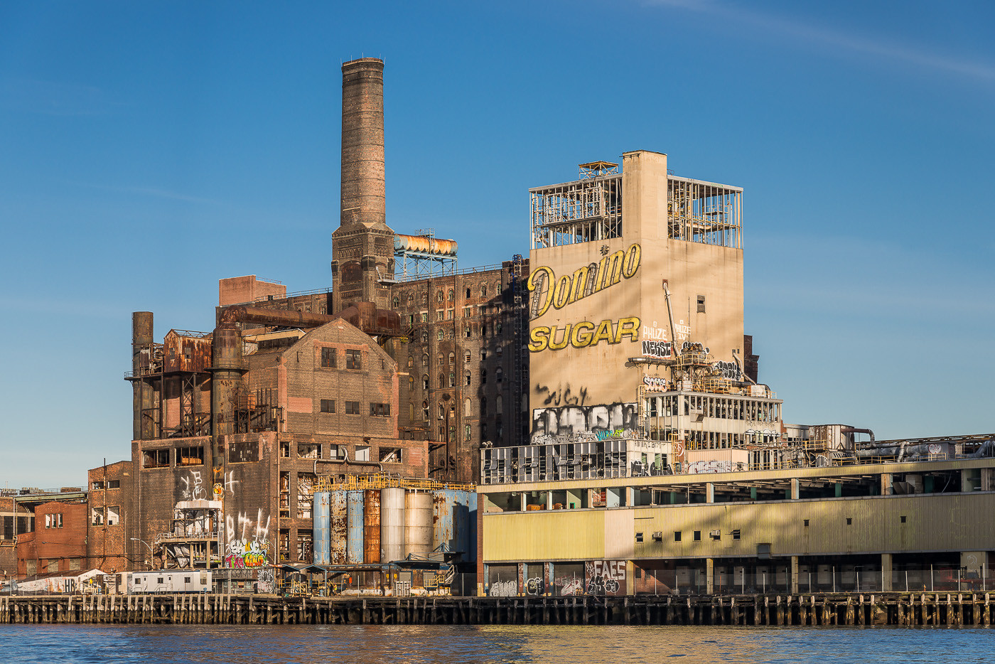 In Images The Domino Sugar Factory S Beautiful Decline