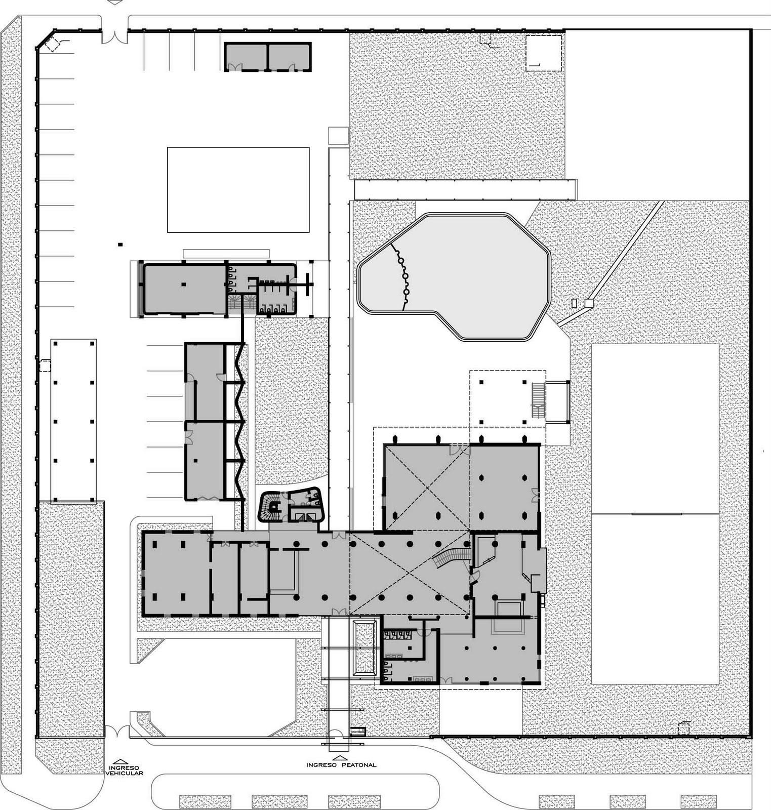 Galer a de cl sicos de arquitectura residencia fap for Arquitectura para la educacion pdf