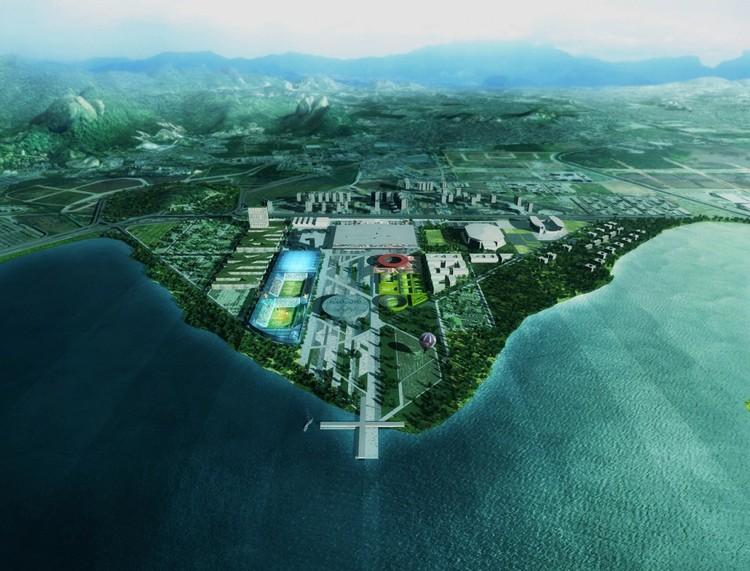 Propuesta para el Parque Olímpico de Rio 2016 / Mecanoo Architecten