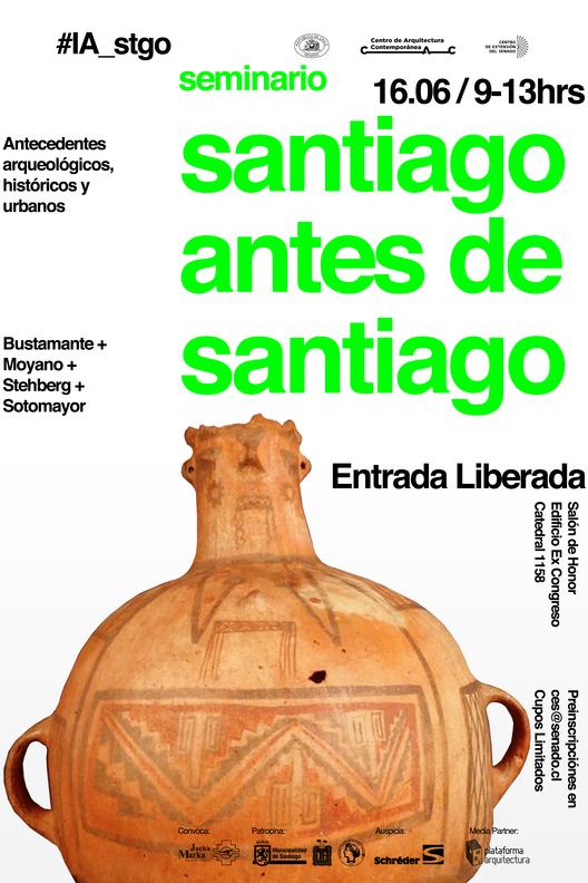 #IA_Stgo: Seminario Santiago antes de Santiago