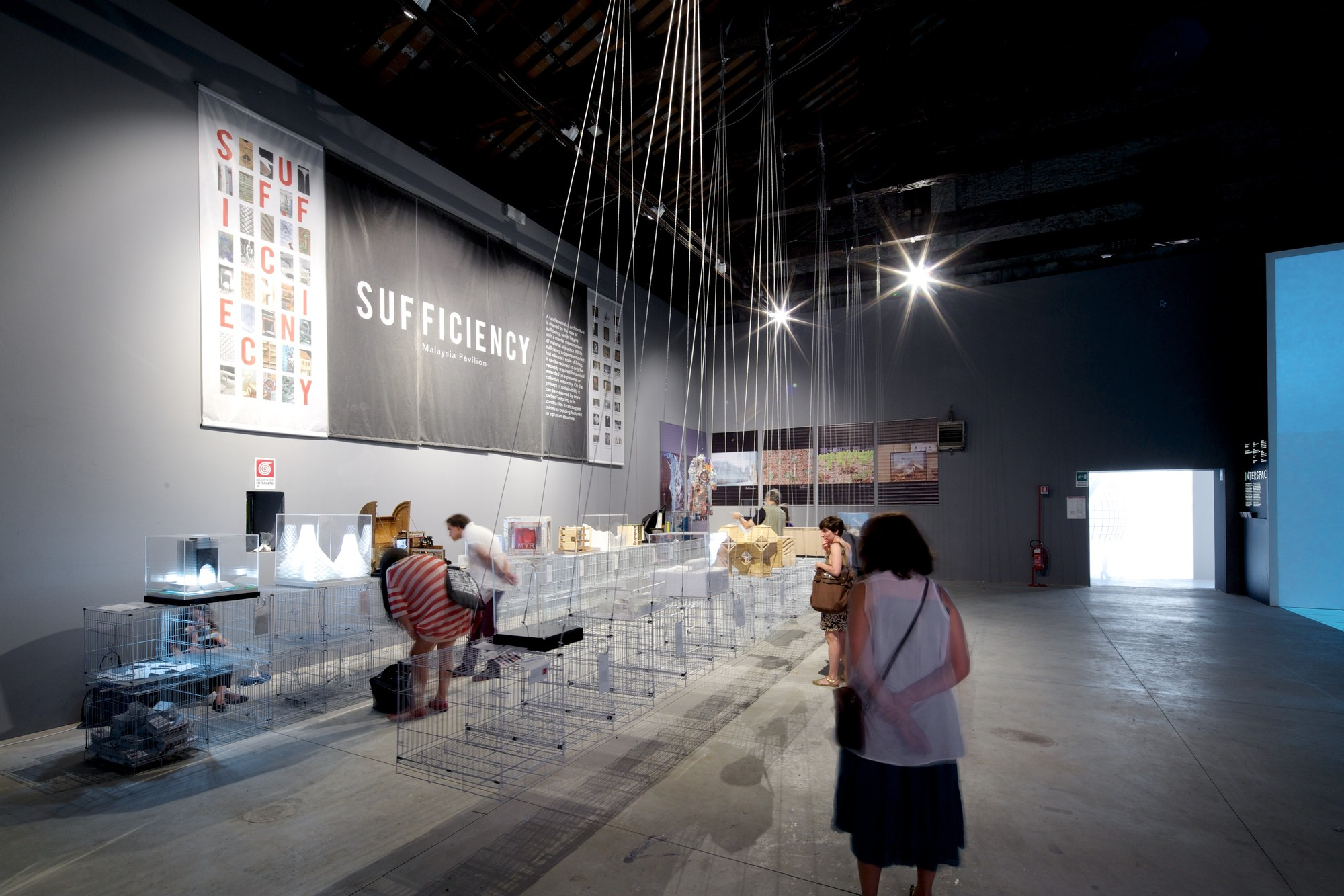 Sufficiency – Inside the Malaysia Pavilion at the 2014 Venice Biennale, Sufficiency. The Malaysia Pavilion at the 2014 Venice Biennale. Image © Nico Saieh