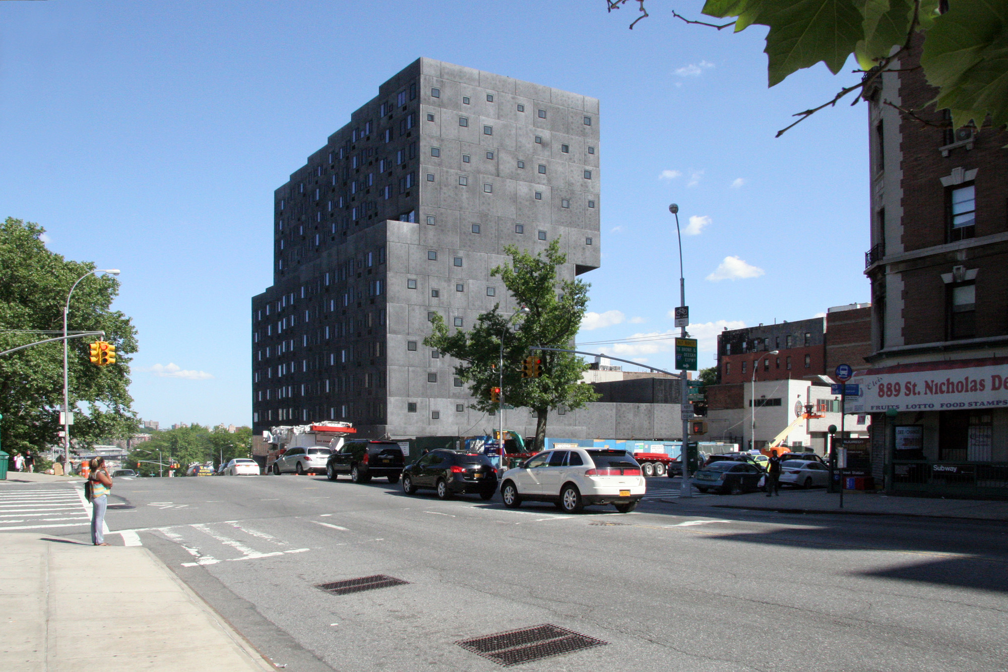 Sugar Hill Development / Adjaye Associates, Courtesy of Adjaye Associates