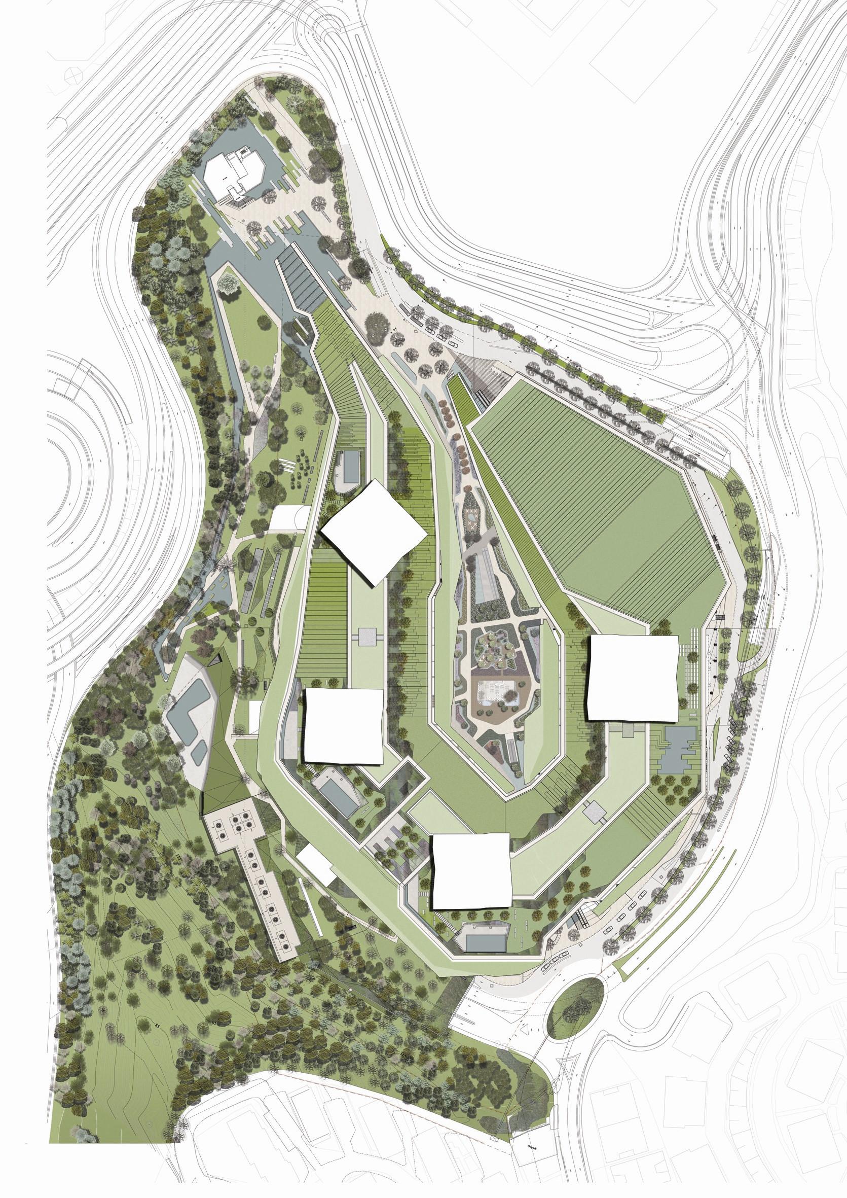 Gallery of zorlu center emre arolat architects for Architecture design websites free