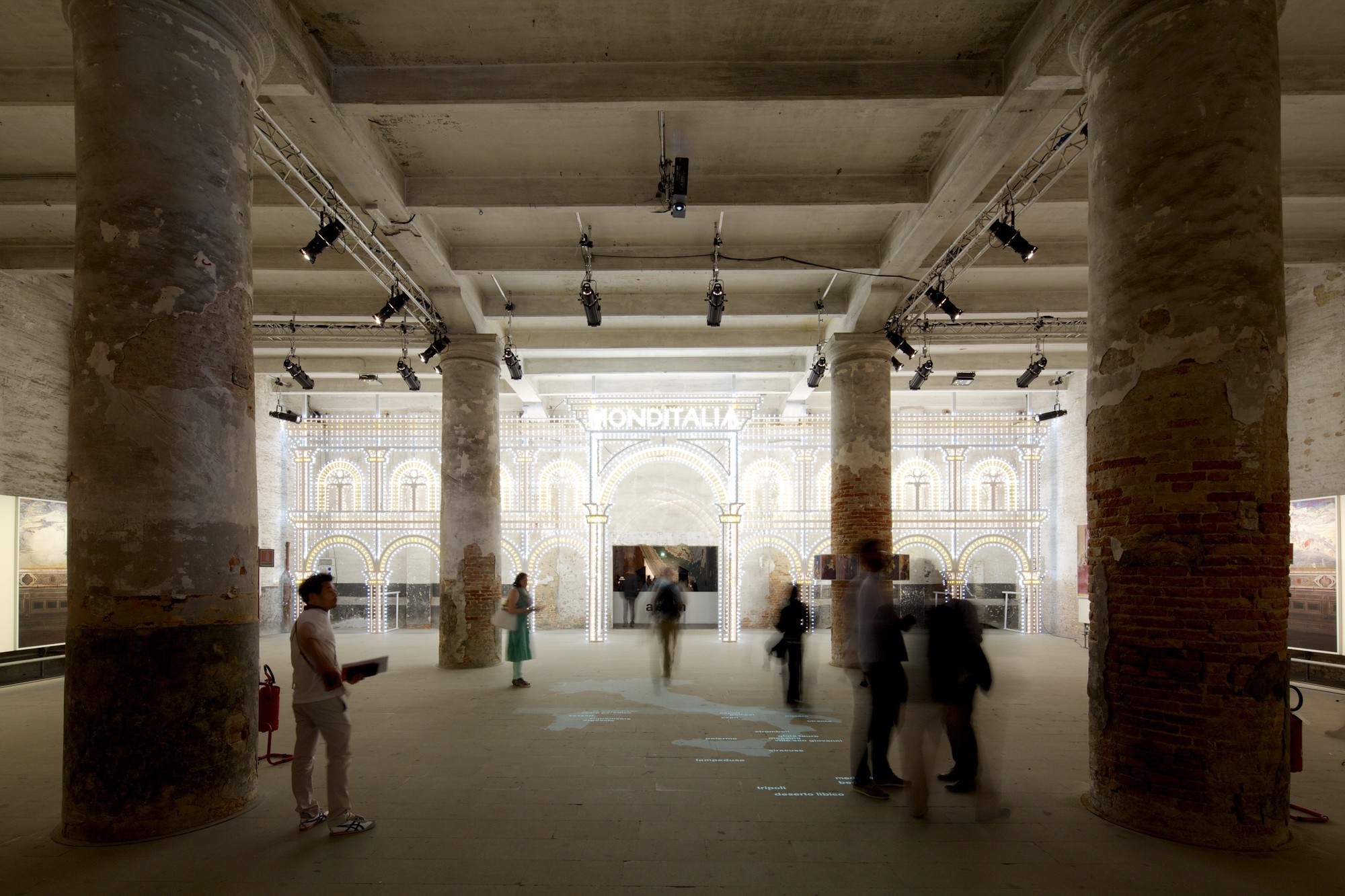 How OMA's Monditalia Paints A Dynamic Portrait of Italy, © Nico Saieh