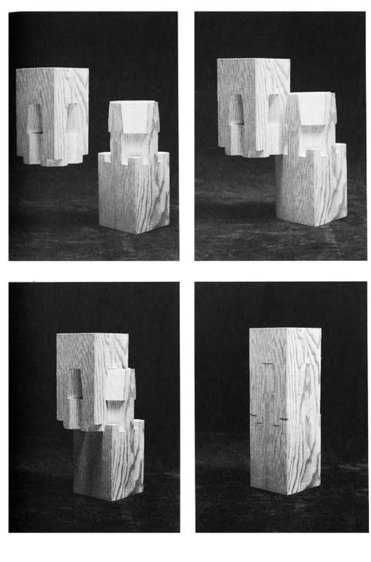 """En Detalle: Especial / Los ensambles de madera en la arquitectura japonesa tradicional, Empalme a cuatro caras en cuello de cisne. """"Hashira tsugi"""". Image Courtesy of Torashichi Sumiyoshi y Gengo Matsui"""