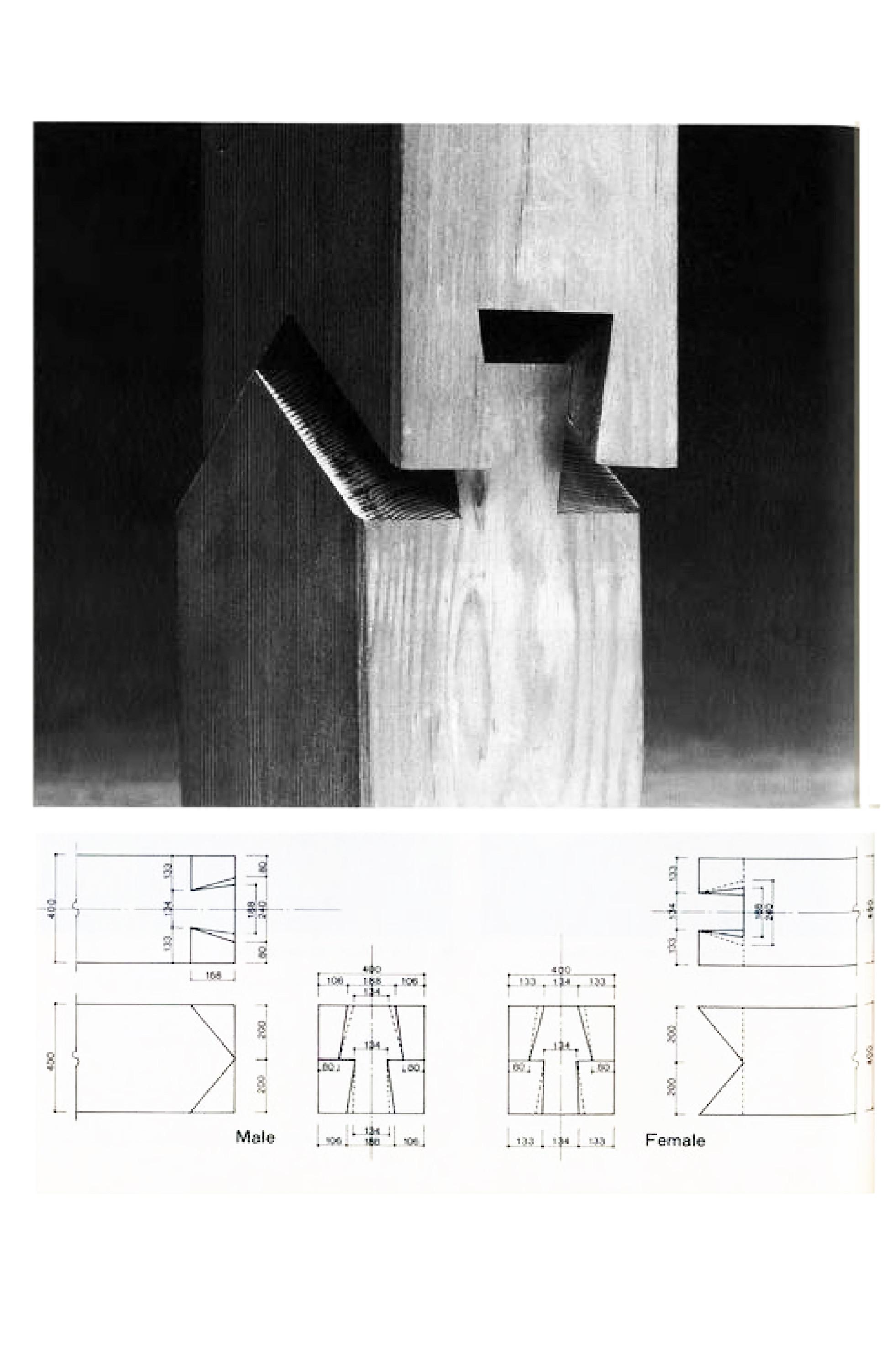 Galer a de en detalle especial los ensambles de madera - Arquitectura en madera ...