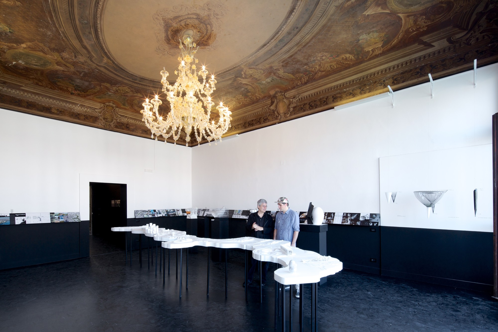 "100 Architects From 6 Continents Discuss ""Time Space Existence"" at the 2014 Venice Biennale, Time Space Existence. Collateral Event at the 2014 Venice Biennale.. Image © Nico Saieh"