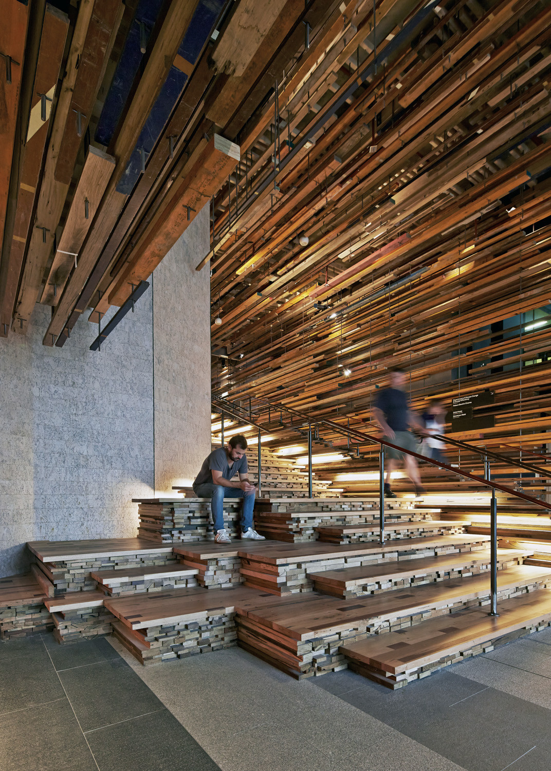 Gallery of hotel hotel lobby and nishi grand stair for Design hotel few steps from the david