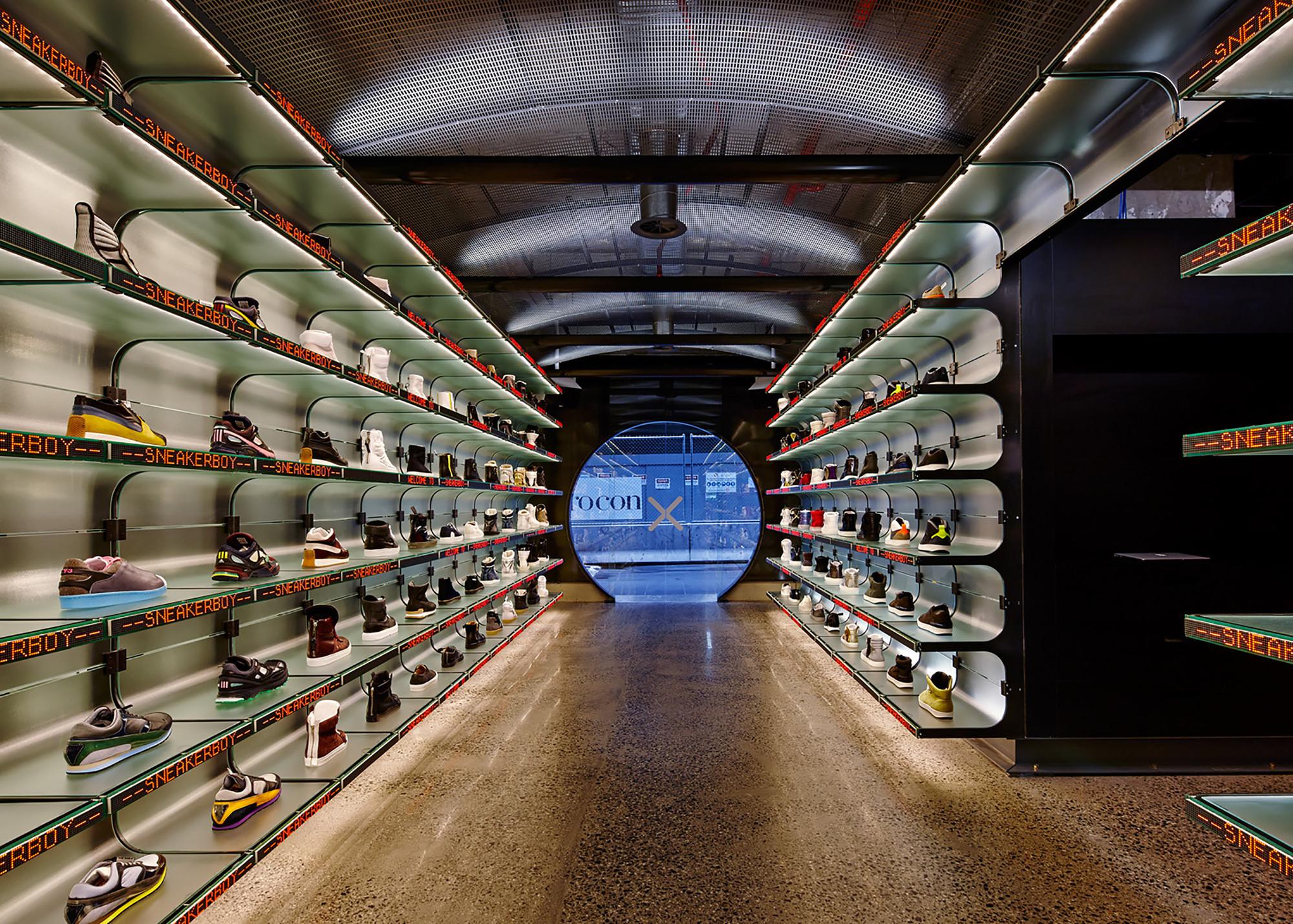 Sneakerboy Store  / March Studio, © Peter Bennetts
