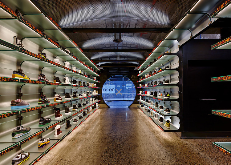 Tienda Sneakerboy / March Studio, © Peter Bennetts