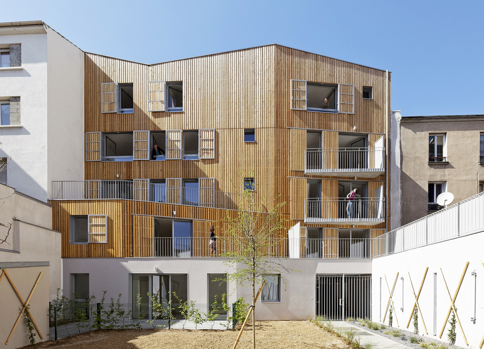 8 Housing in Patin / Benjamin Fleury, © David Boureau