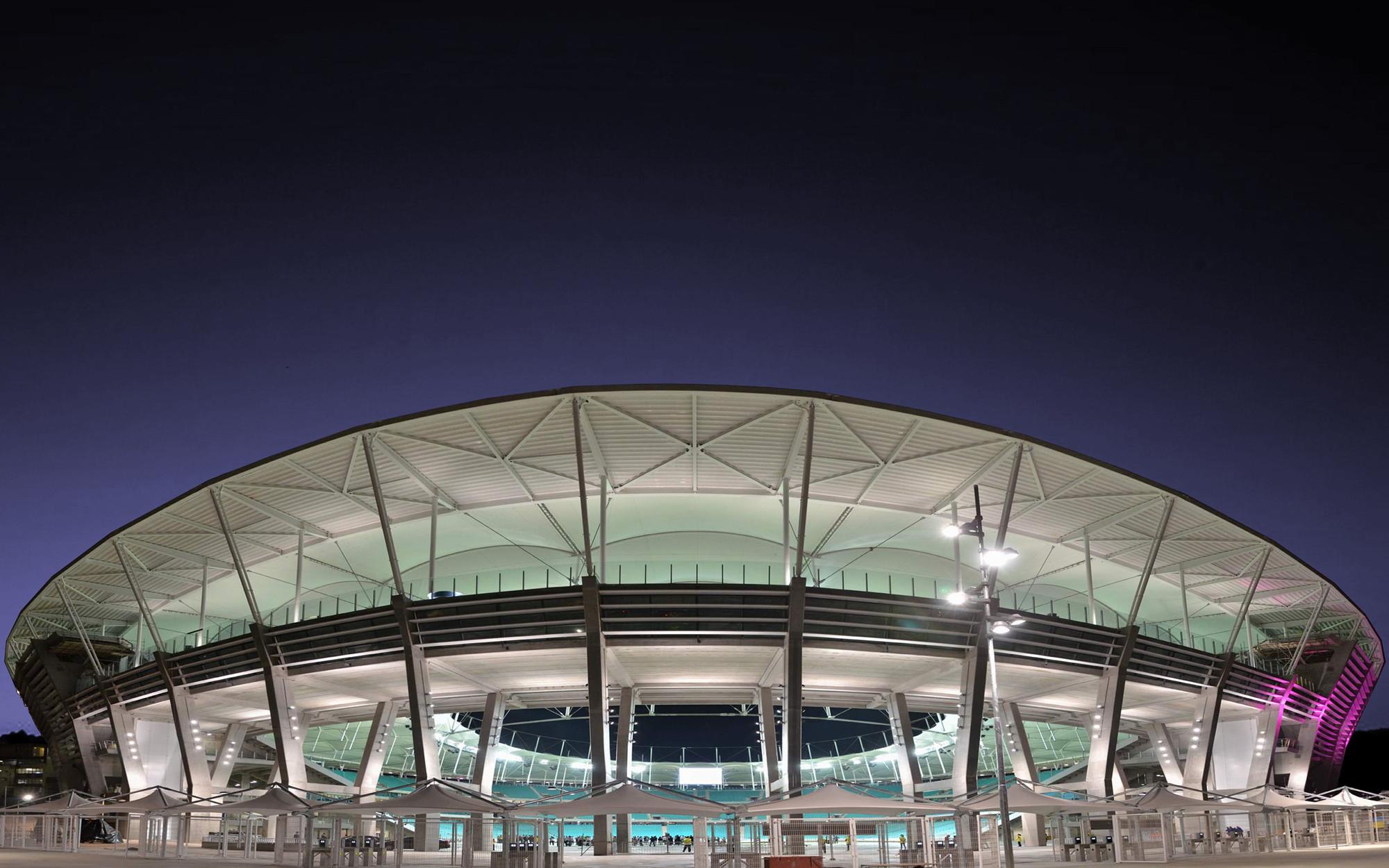 Estádios da Copa do Mundo no Brasil, Arena Fonte Nova, Salvador - BA. Image © © Erik Salles