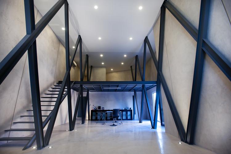 Despacho a la Sombra de un Almendro / Arturo Campos Arquitectos, © Alberto Cáceres