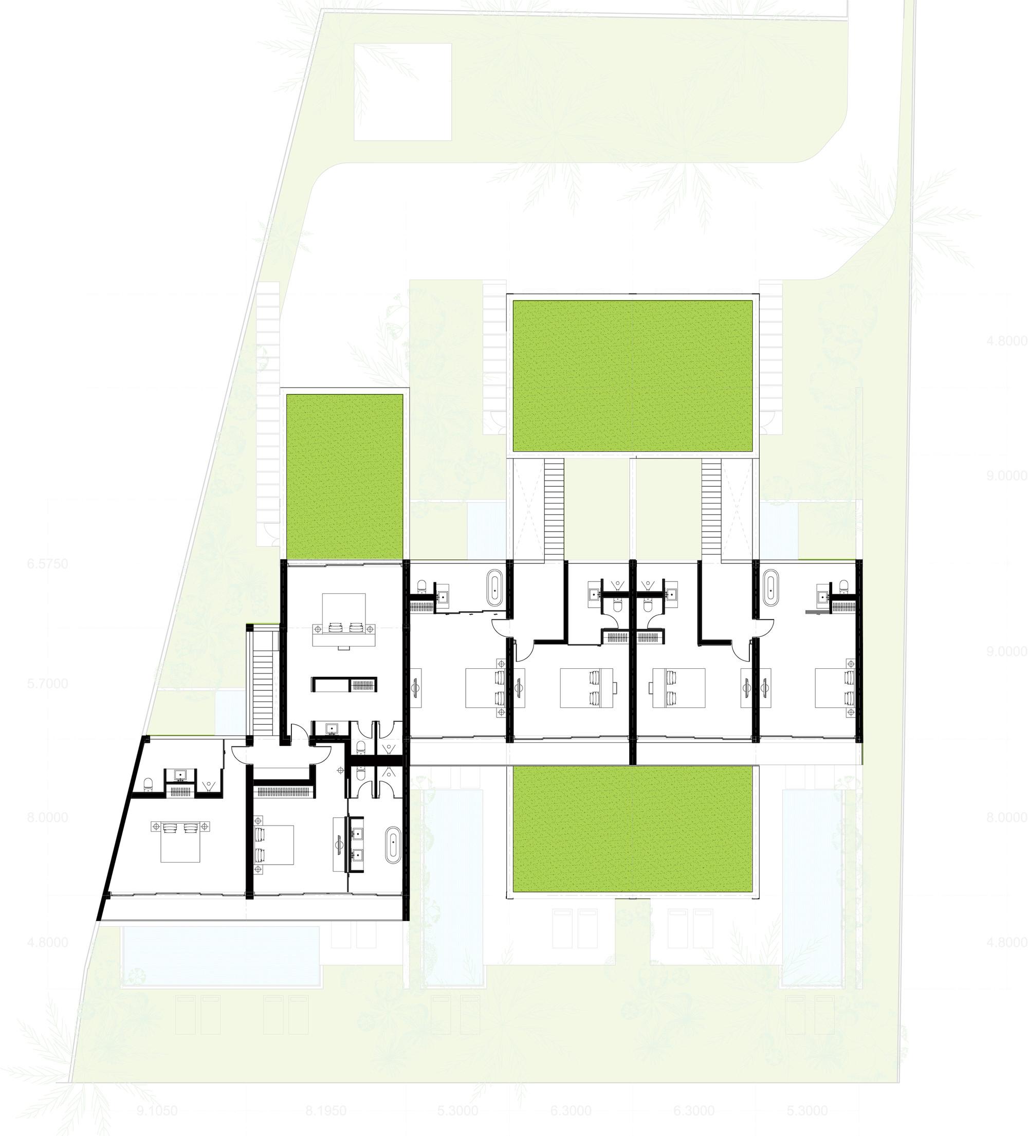 Gallery of oceanique villas mm architects 30 for Villa interior design plan