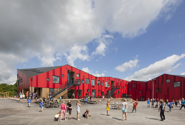 The Vibeeng School / Arkitema Architects, via Arkitema Architects