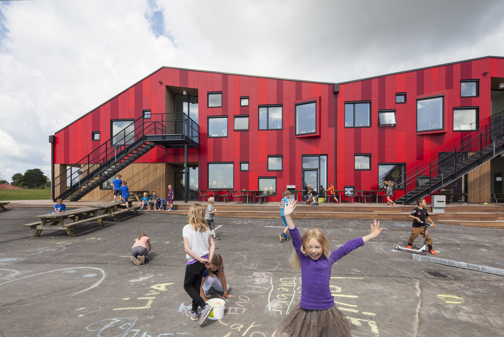 Gallery Of The Vibeeng School Arkitema Architects 8