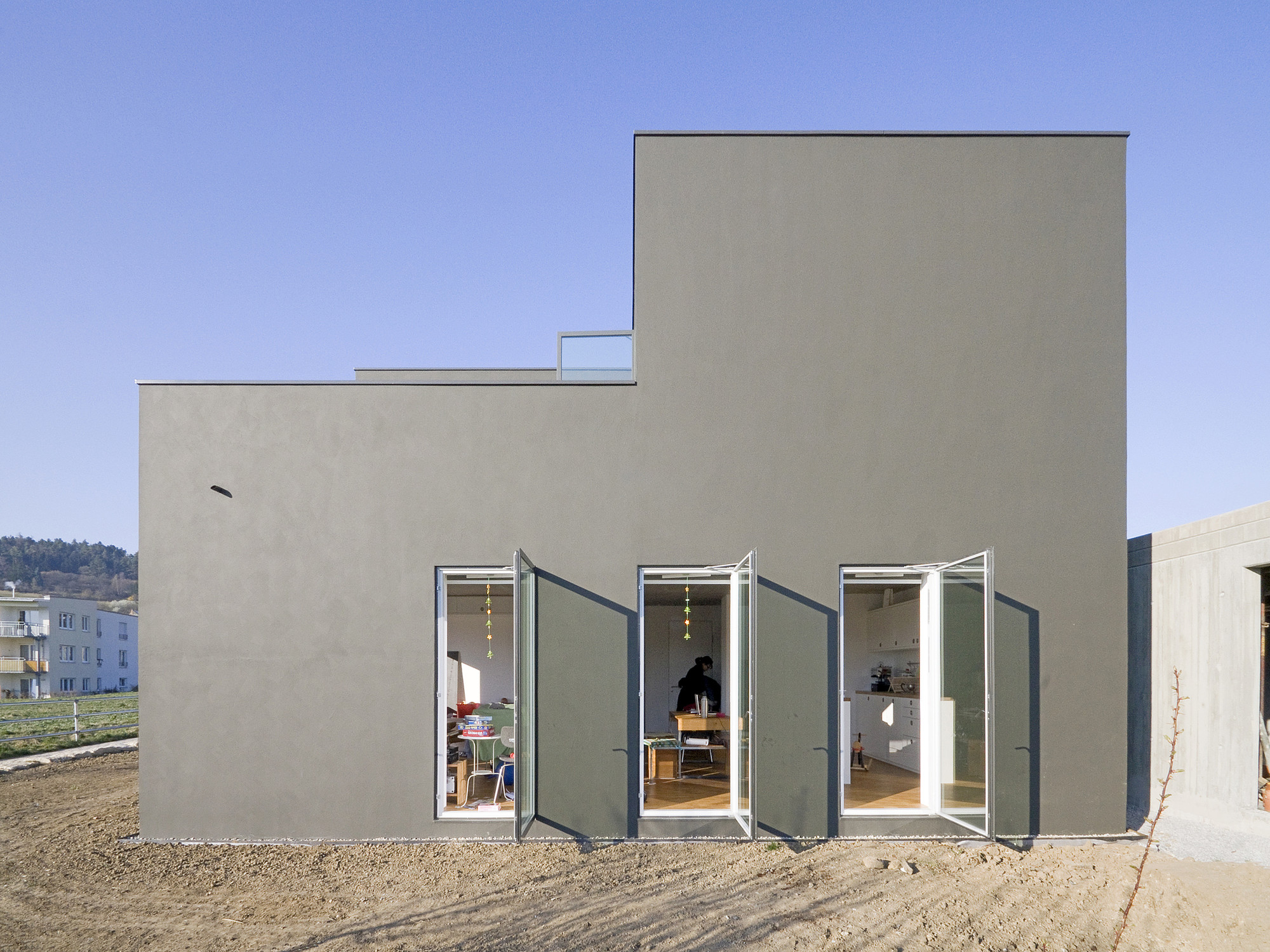 House 9,74 x 9,74 / f m b architekten, Courtesy of f m b architekten
