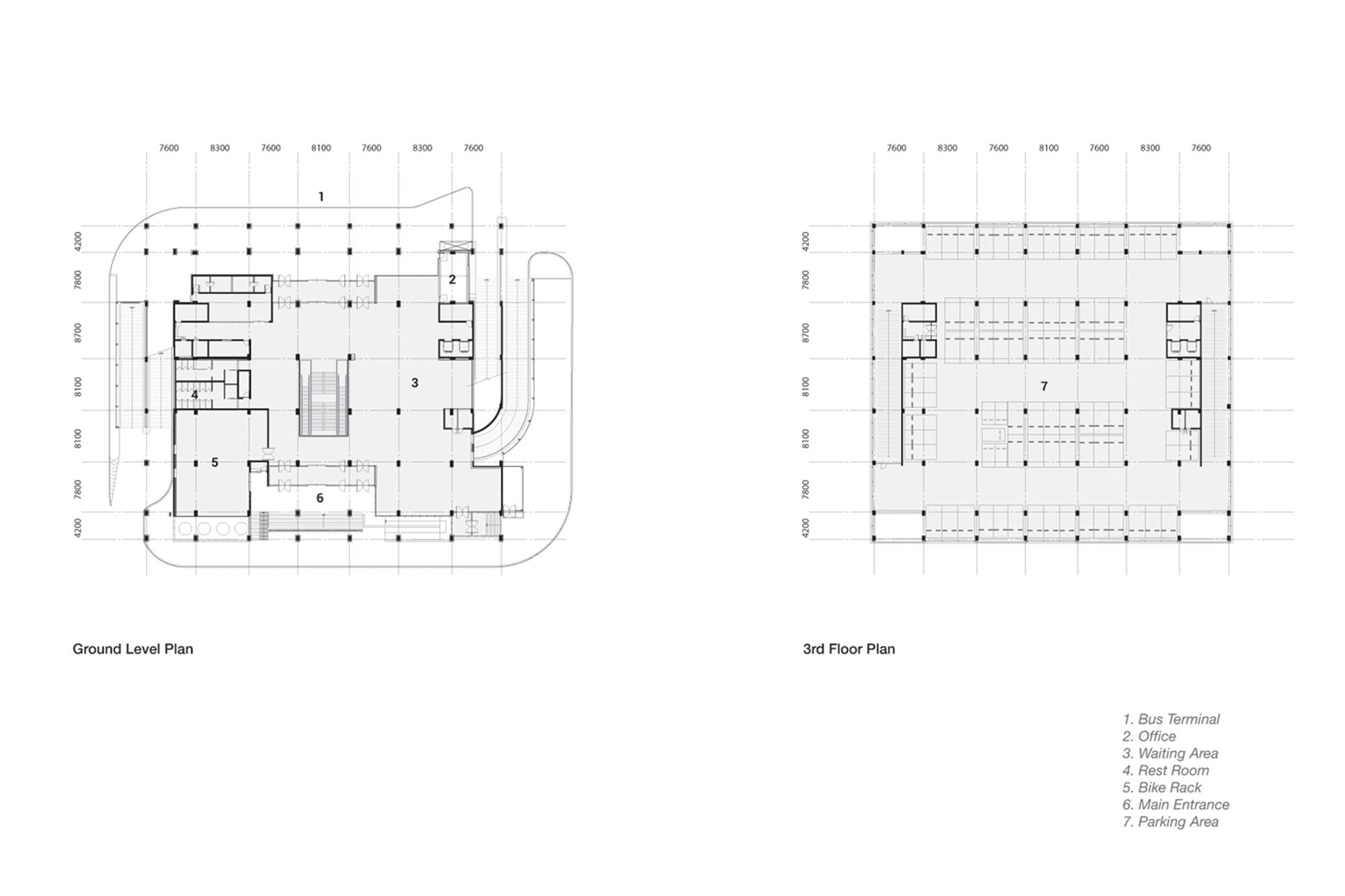 Gallery Of Dobongsan Car Park Jae Kim Codeau Namoa Architects 16