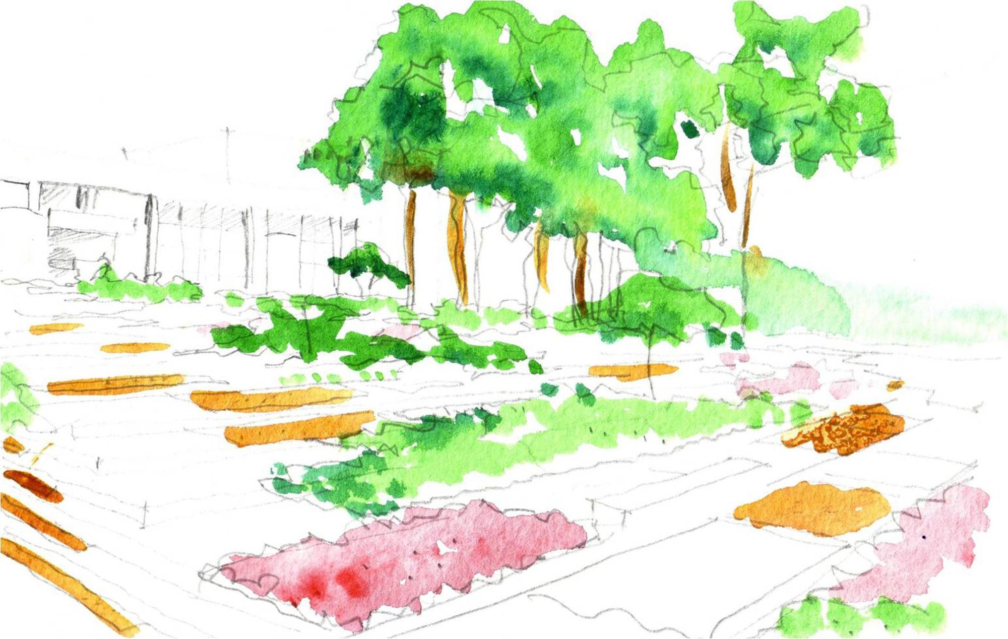 Arquitectura y paisaje espacios verdes colectivos para for Arquitectura del paisaje