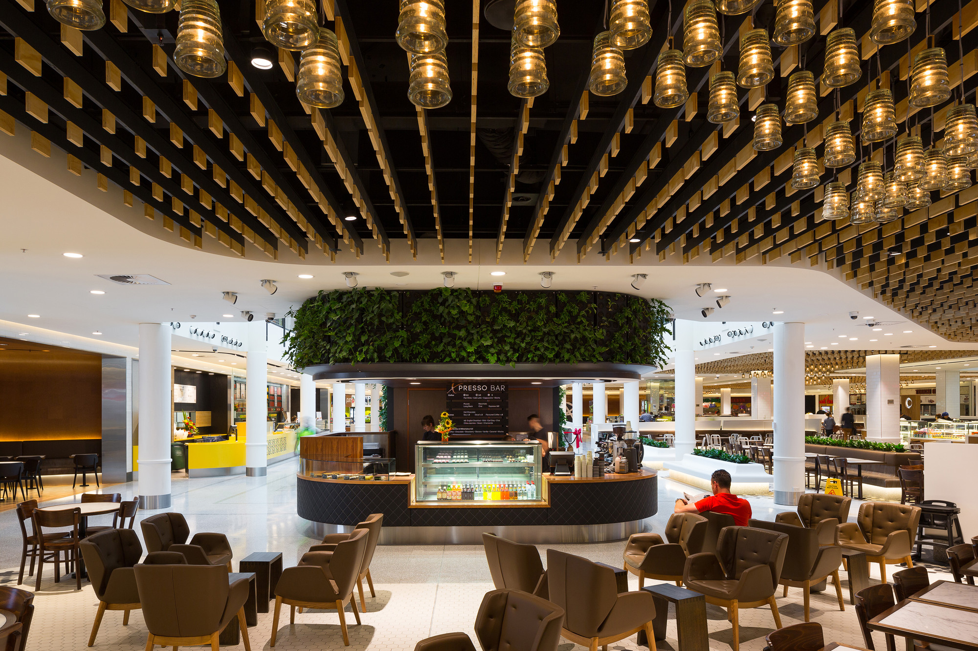 John Andrews Award For Commercial Architecture Canberra Centre Food Court By Cox Image