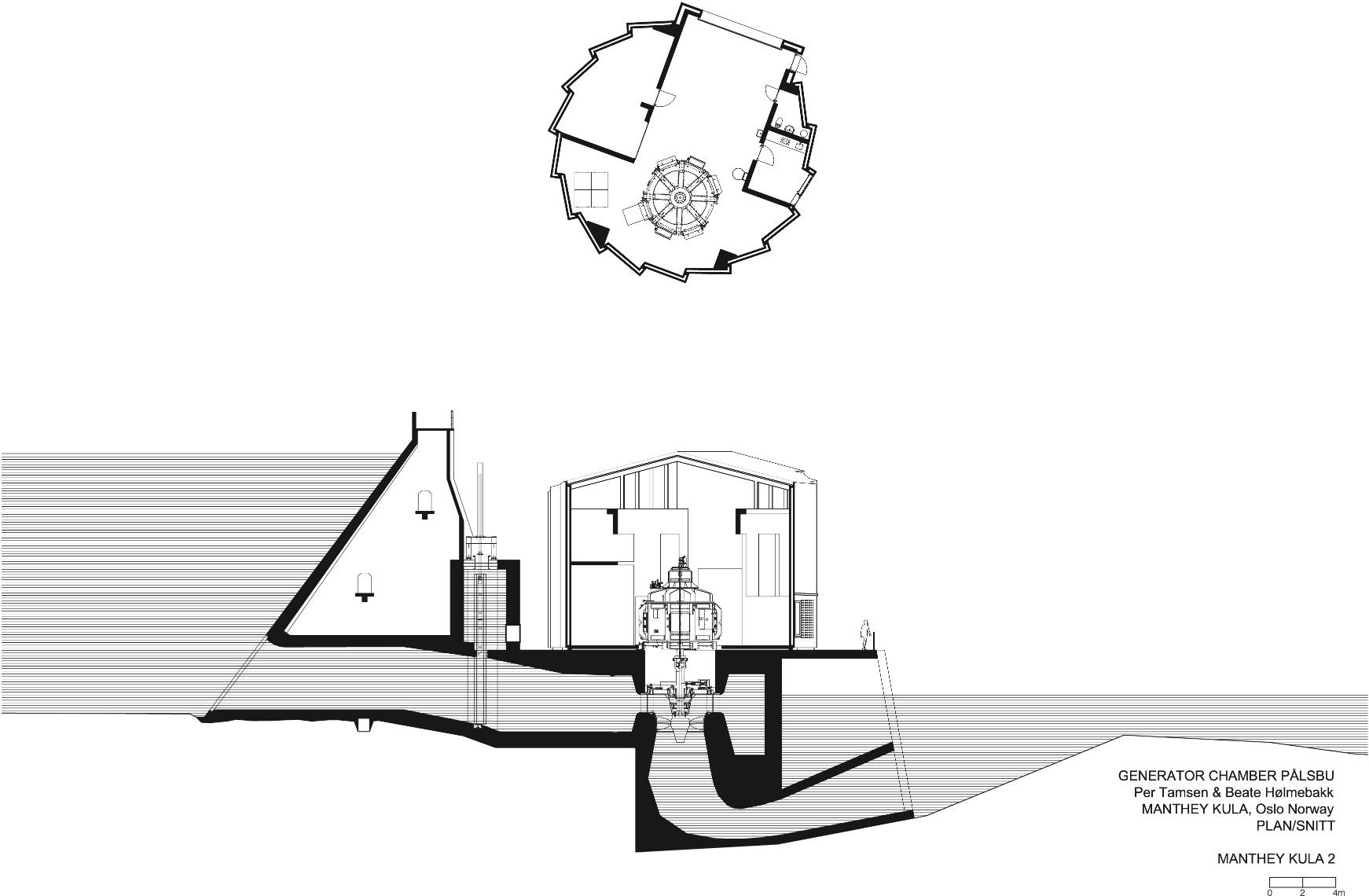 Palsbu Hydro Power Station Manthey Kula Architects Archdaily