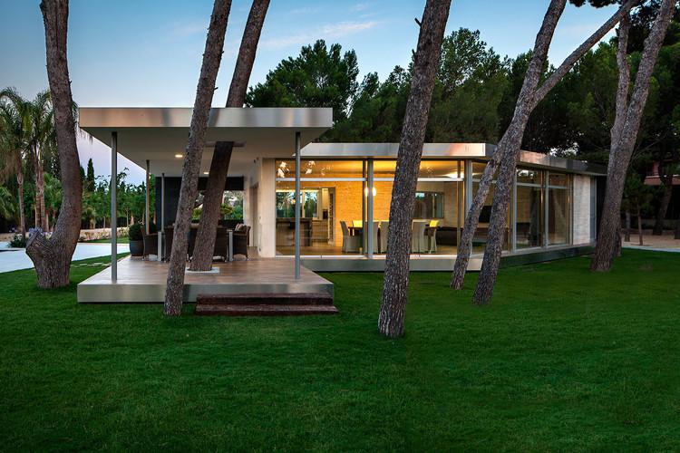 Pabellón entre Pinos / e2b arquitectos, © Enrique Agües