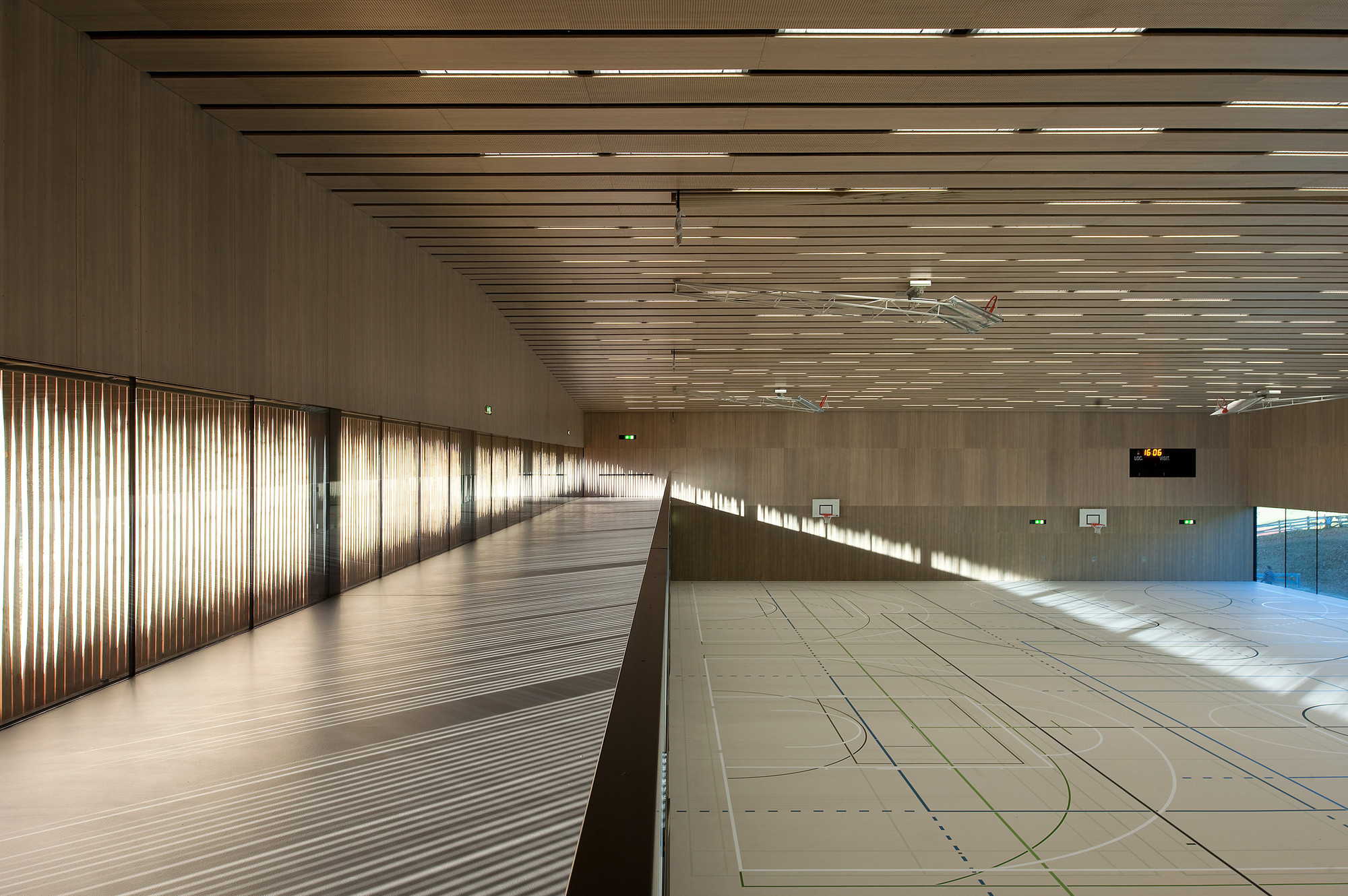 Ura Floor Plan Lussy Sport Hall Virdis Architecture Archdaily