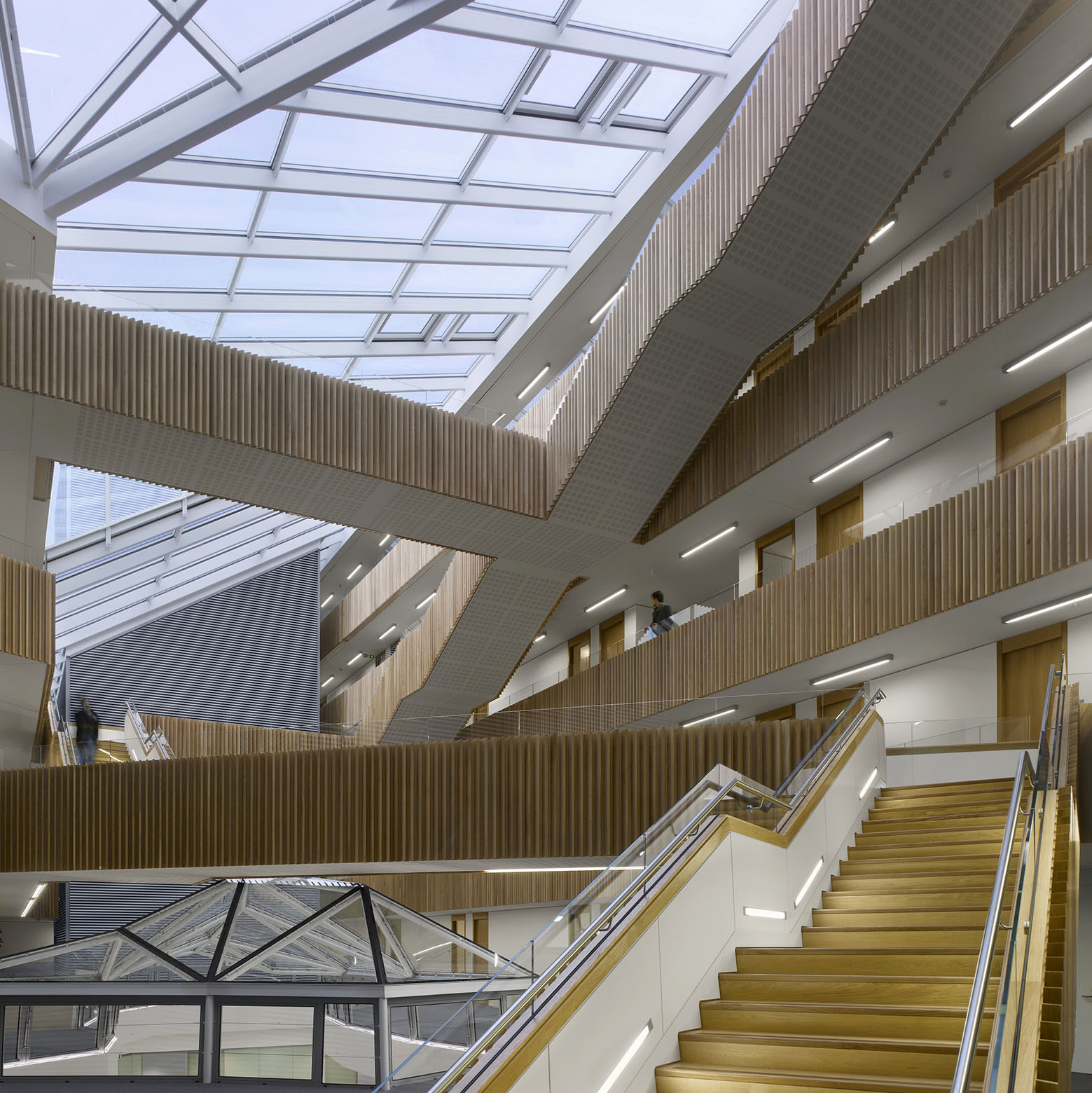 University of Oxford Mathematical Institute / Rafael Viñoly Architects, © Will Pryce