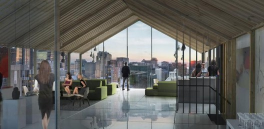 Public Space Winner: HUB / Pierre Levesque (Roof Terrace). Image Courtesy of Prodigy Network