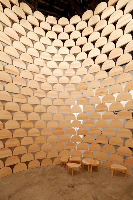 """""""Visibilidad (modernidad impuesta)"""" - Pabellón de Kosovo en la Bienal de Venecia 2014, © Nico Saieh"""