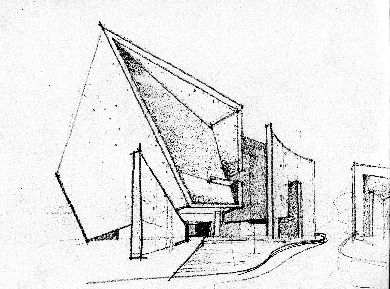 Gallery of emerging practices in india abin design studio 3 for Drawing for house construction in india
