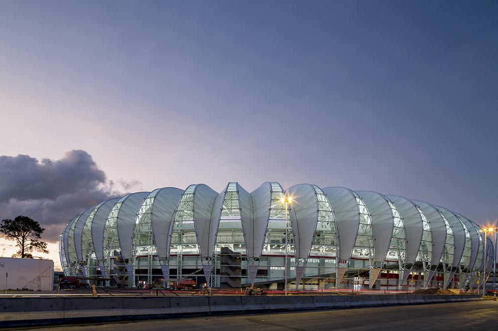 Os Estádios da Copa pelas lentes de Leonardo Finotti, Estádio Beira Rio. Image © Leonardo Finotti