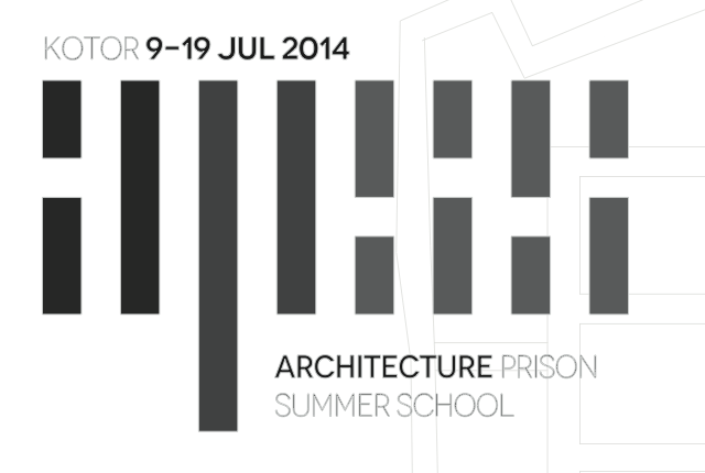 Kotor Architecture Prison Summer School 2014