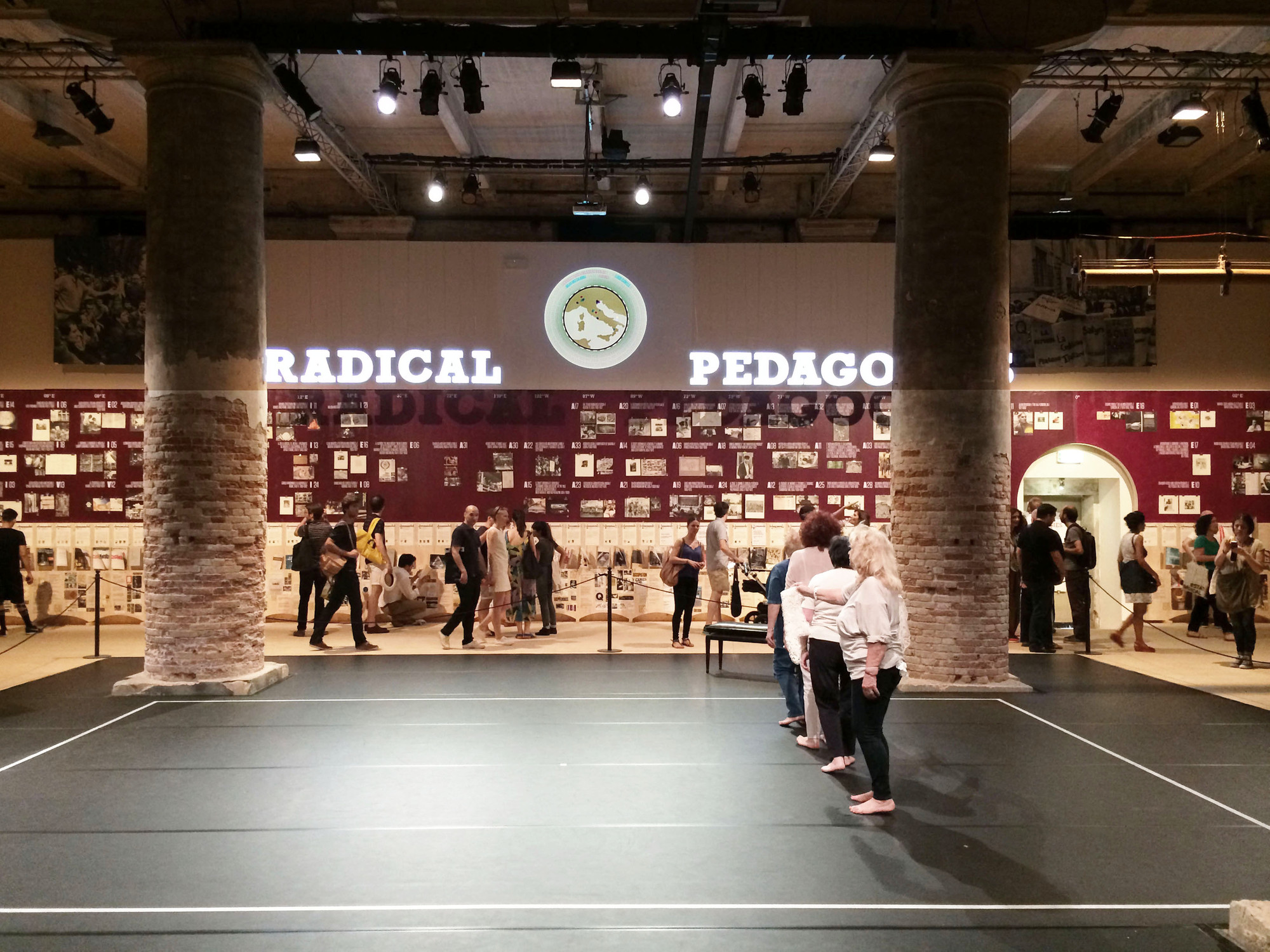 """Bienal de Venecia 2014: """"Radical Pedagogies"""", Diseño de la Exposición por Amunátegui Valdés Arquitectos, Cortesía de Amunátegui Valdés Arquitectos"""