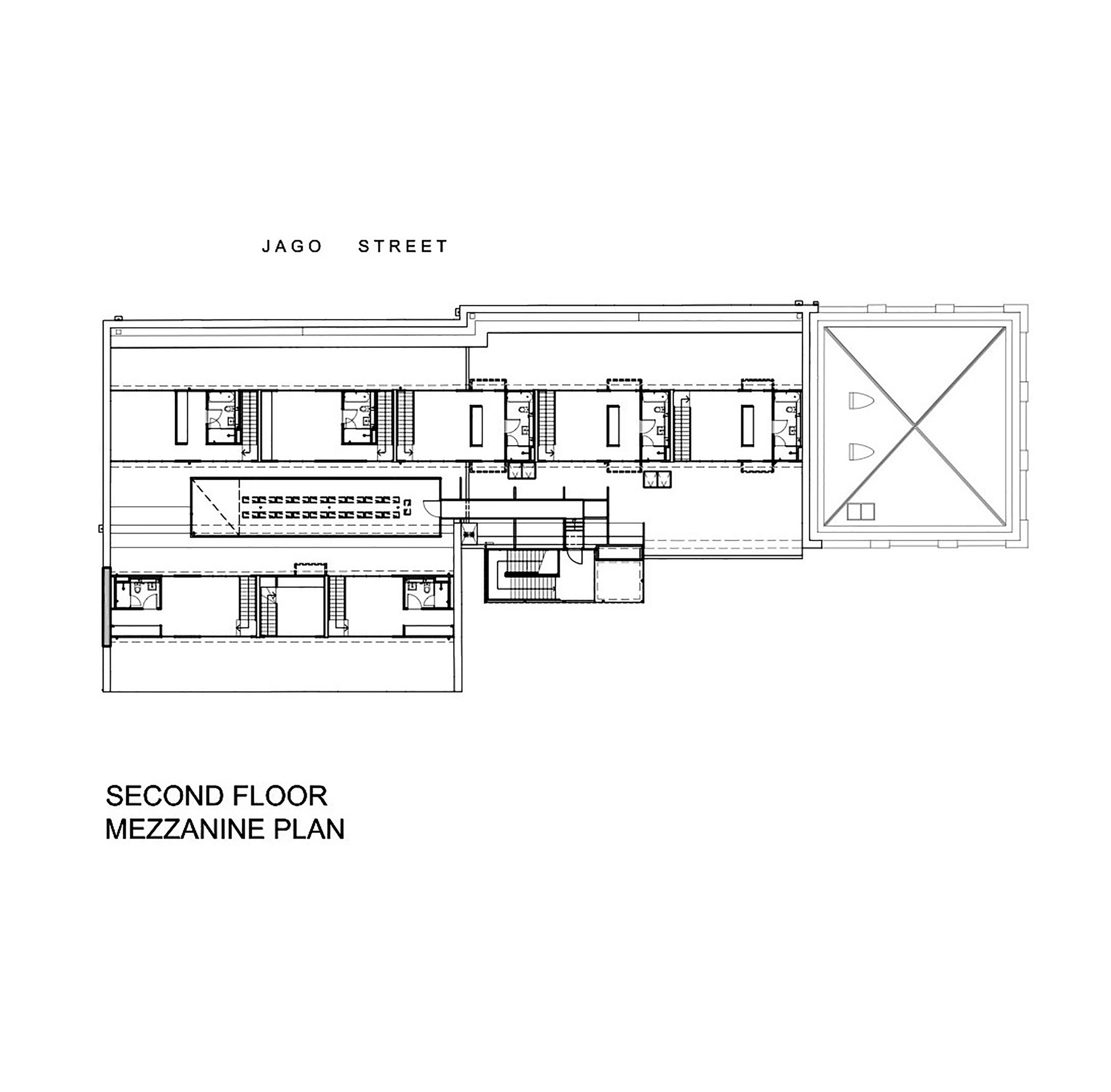 Wertheim factory conversion kerstin thompson architects for Mezzanine plan