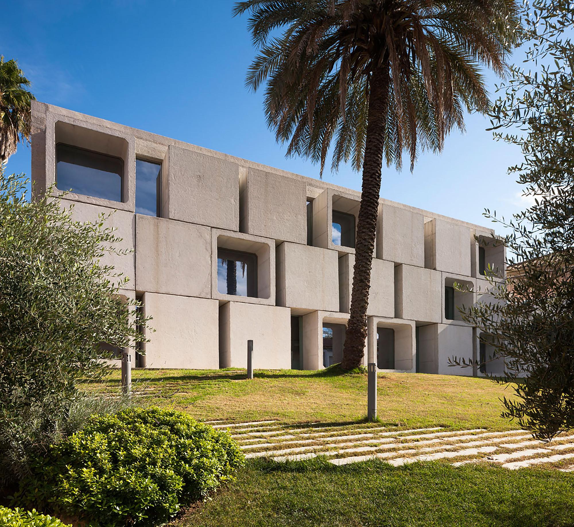 Biblioteca Antonio Gala  / Francisco López  + Gudula Rudolf, © Fernando Alda