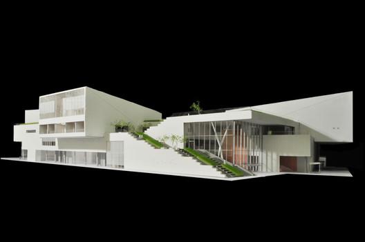 Model of the Shekou Museum. Image © China Merchants Property Development & Maki and Associates